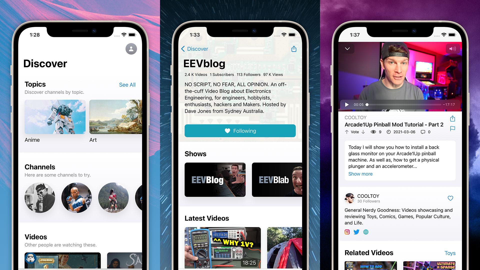Utreon Launches iOS App